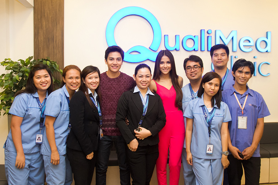New clinic in up town center in diliman qualimed health network