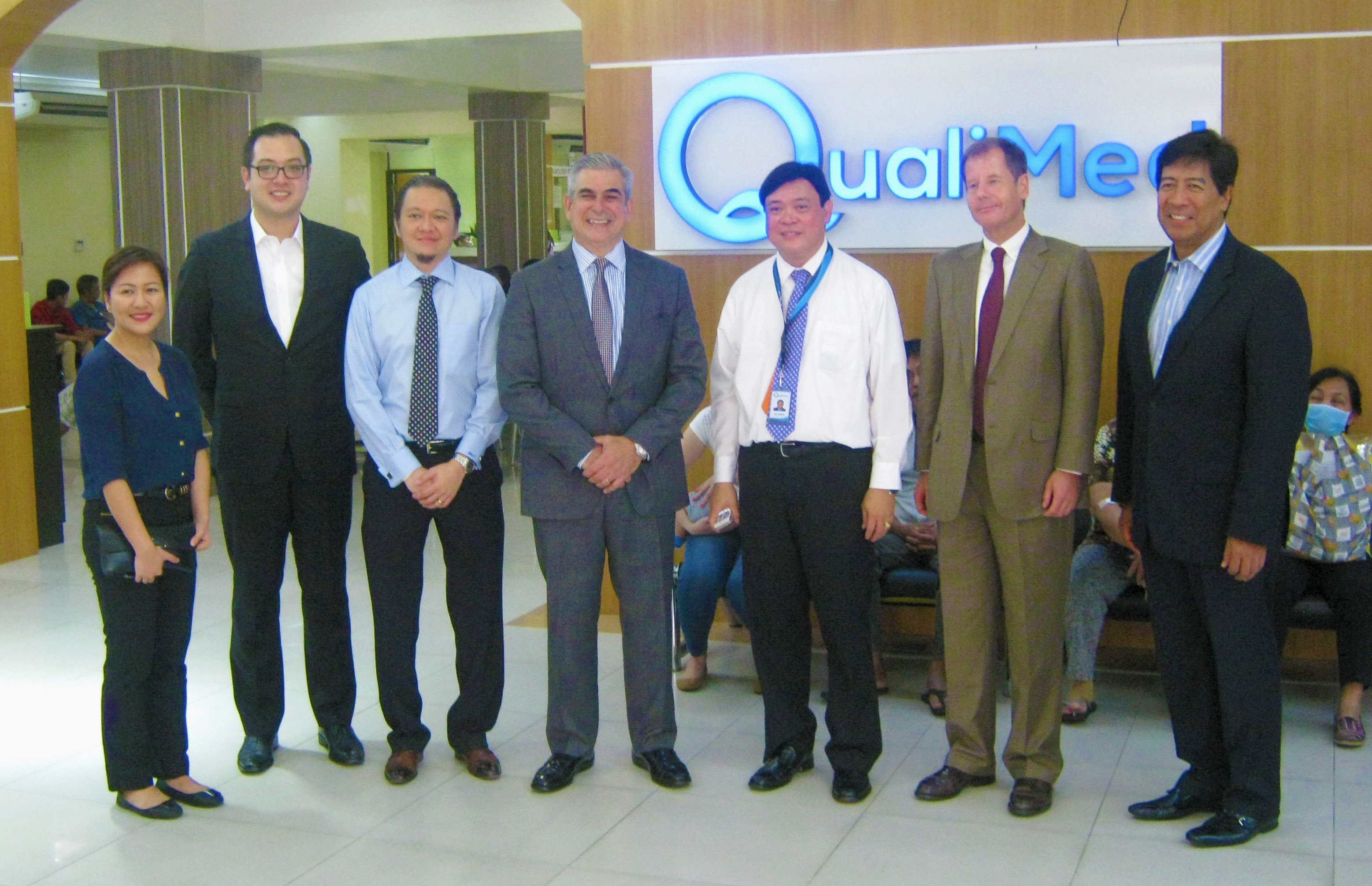 JAZA Visits QualiMed Manila