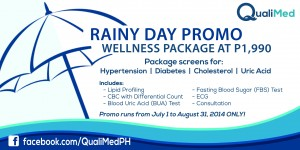 QualiMed Rainy Day Promo