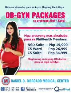 DMMC OB Packages for Philhealth Members