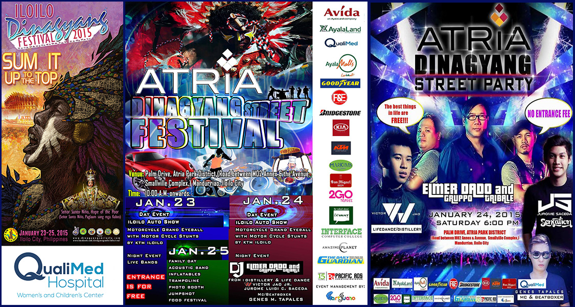 QualiMed Celebrates Dinagyang Festival 2015 at Atria Park District