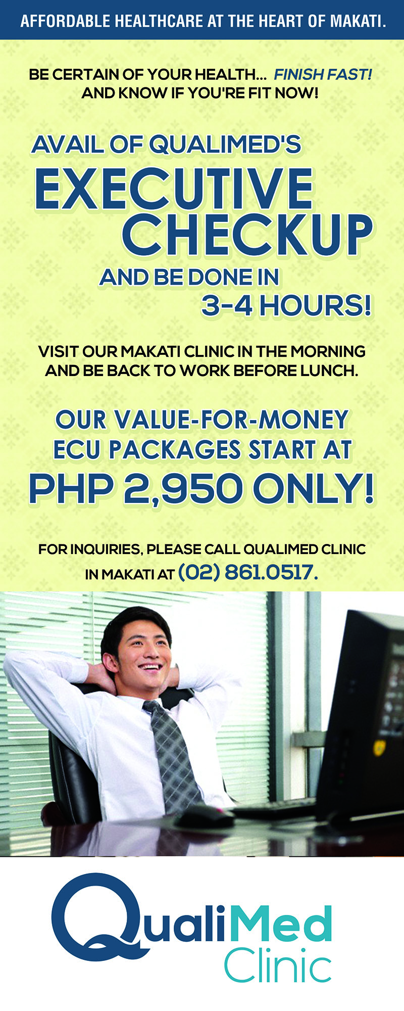 QualiMed Executive Checkup - QualiMed Clinic (Makati)