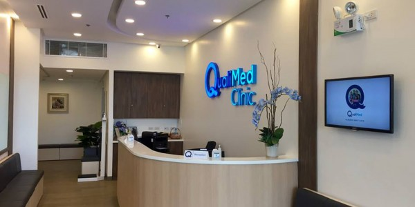 QualiMed Clinic Makati Reception