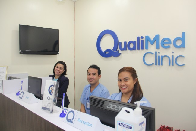 QualiMed Clinic - BGC - Lobby