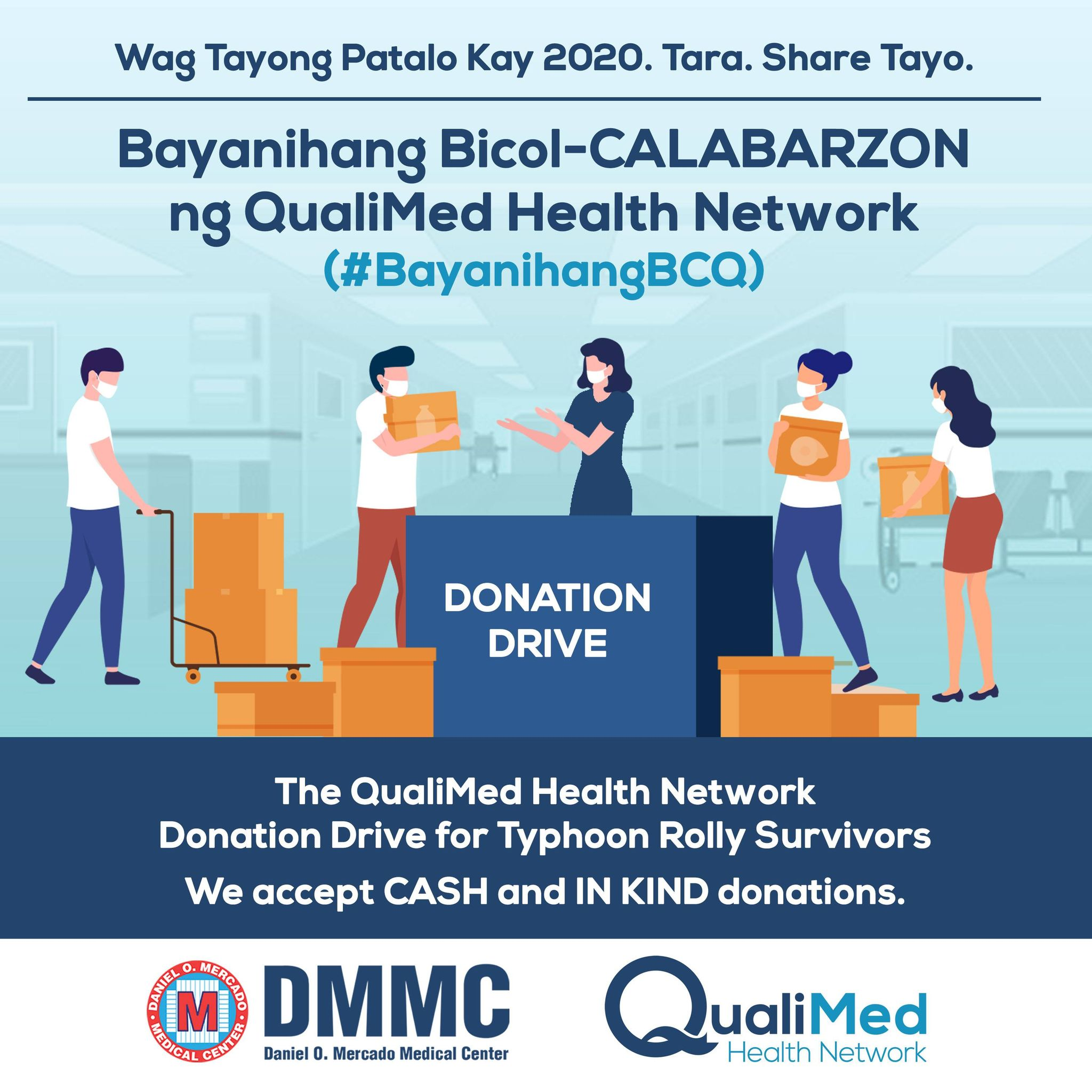 #BayanihangBCQ – Typhoon Rolly Relief Drive